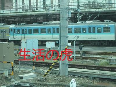 115系長野色、大宮駅で
