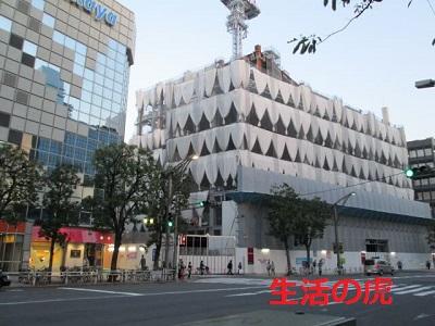 2016上野松坂屋新館工事