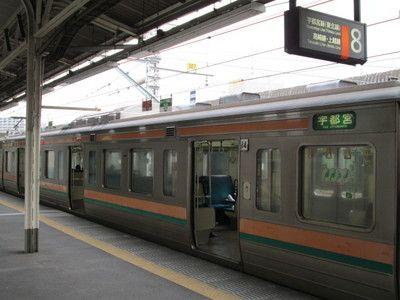 上野駅211系電車